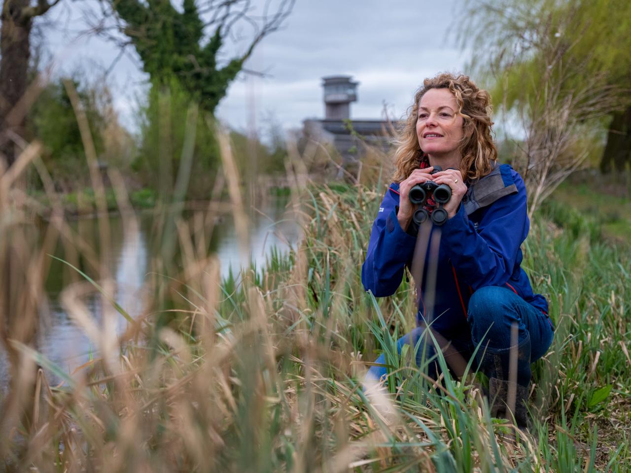 Kate Humble Wwt President At Slimbridge Kate Humble